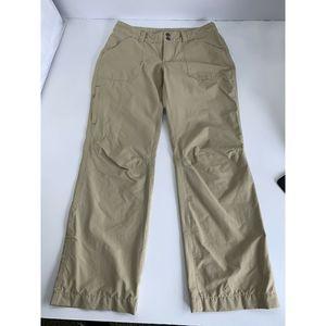 Patagonia Women's Cargo Pants Nylon Zip Pocket